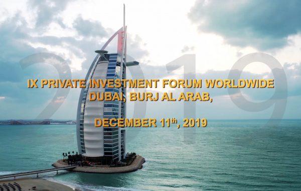 Teaser. VIII PIFW. Burj Al Arab Jumeirah, Dubai.
