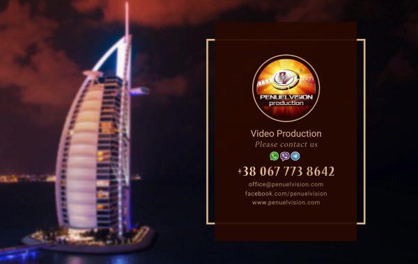 Presentation PENUELVISION Production. Burj Al Arab. DUBAI